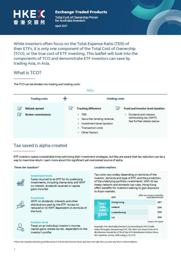 澳洲投资者ETF投资总成本简介(只供英文版)
