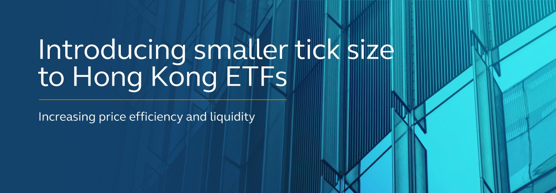 ETP tick size